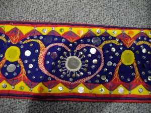 My stole detail